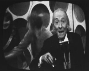 William Hartnell famously breaks 'the fourth wall'