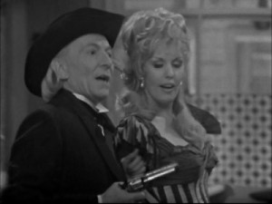 No matter how many times the Doctor tries to refuse a gun, he keeps getting handed one...