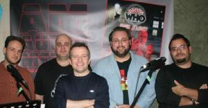 Joshua Hemming, pictured far left, joins the crew for series 2