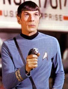 Mr Spock in Star Trek (1966-69)