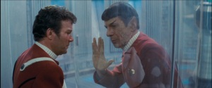 Spock's death scene in The Wrath of Khan