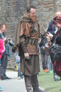Guest Actor Daniel Hoffmann-Gill in costume.  (Photo by Tony Chamberlain)