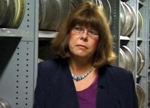 Film and TV Archivist Sue Malden.