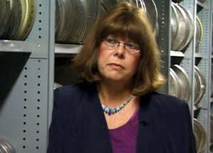 Film and TV Archivist Sue Malden.