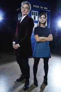 The Doctor and Clara. Best friends....