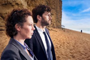 David Tennant and Olivia Coleman in Chris Chibnall's Broadchurch.