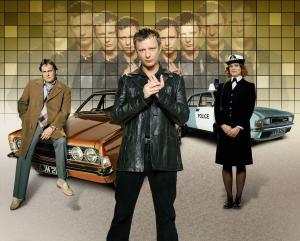 BBC's time travel police drama Life On Mars.